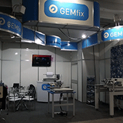 GEMfix have been at Tecnotêxtil in San Paulo, Brazil, April 2013