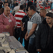 A GEMfix esteve na Clothing Machinery Istanbul, Turquia, Abril 2014